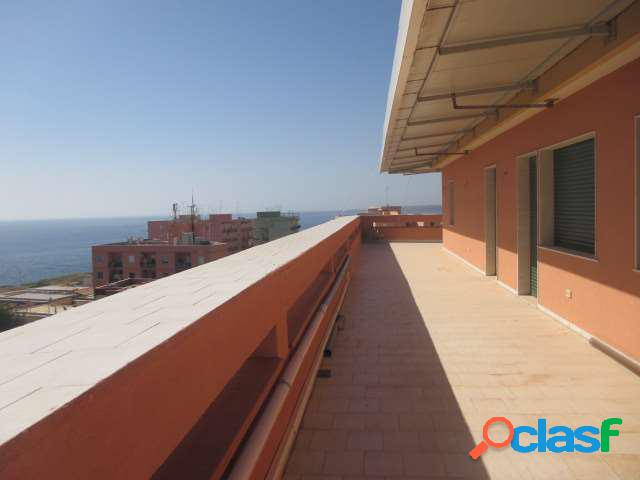 Zona alta:attico vista mare 220 mq con terrazzo