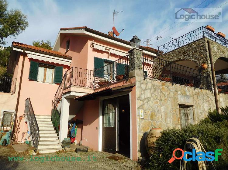 Savona splendida villa vista mare in vendita