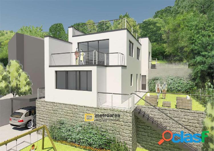 Terreno edificabile con progetto approvato