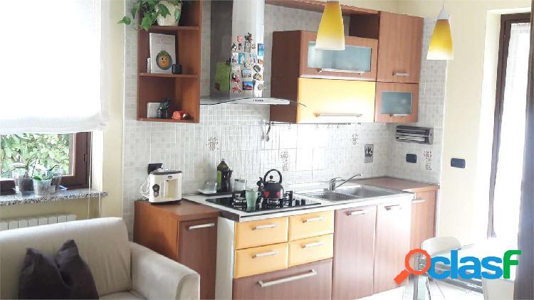 Appartamento con giardino e box