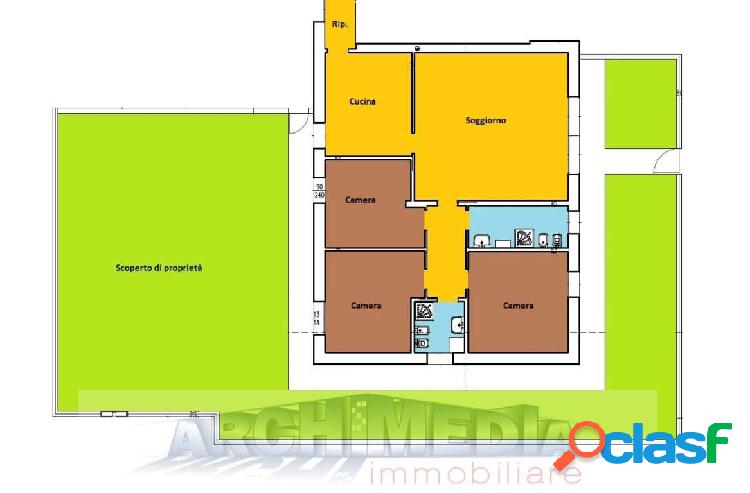 Appartamento con giardino_saccolongo_rif: j282