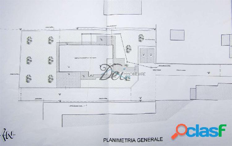 Rughi - terreno edificabile con progetto approvato