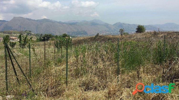 S p 89, terreno pianeggiante con vista panoramica