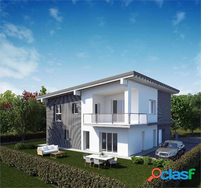 Porzione di casa di nuova costruzione v.giardino
