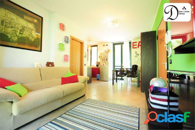 Appartamento bilocale con giardino be-2847