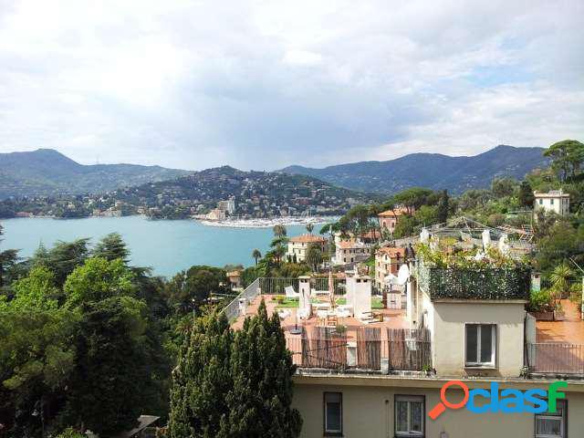 Liguria zoagli bilocale vista mare