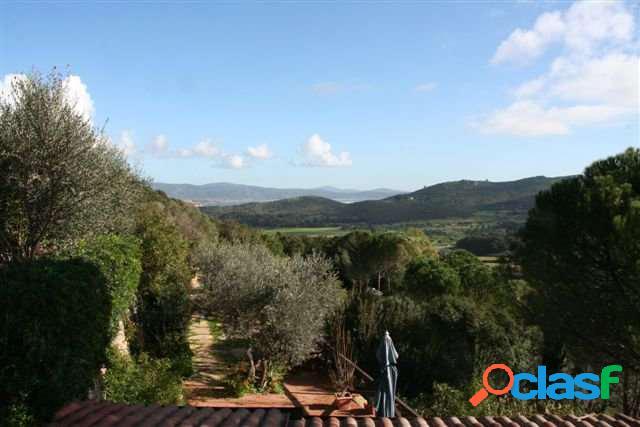 Argentario villa con vista panoramica
