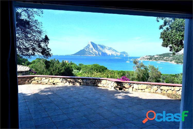 Cala girgolu villa con splendida vista mare