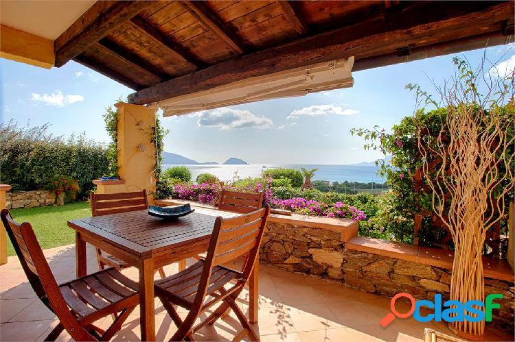 Terrata in residence appartamento con vista mare