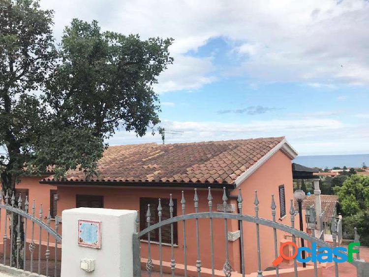 Villa singola bifamiliare con vista mare panoramic