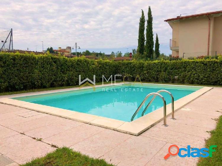 Moniga, Trilocale nuovo in residence con piscina