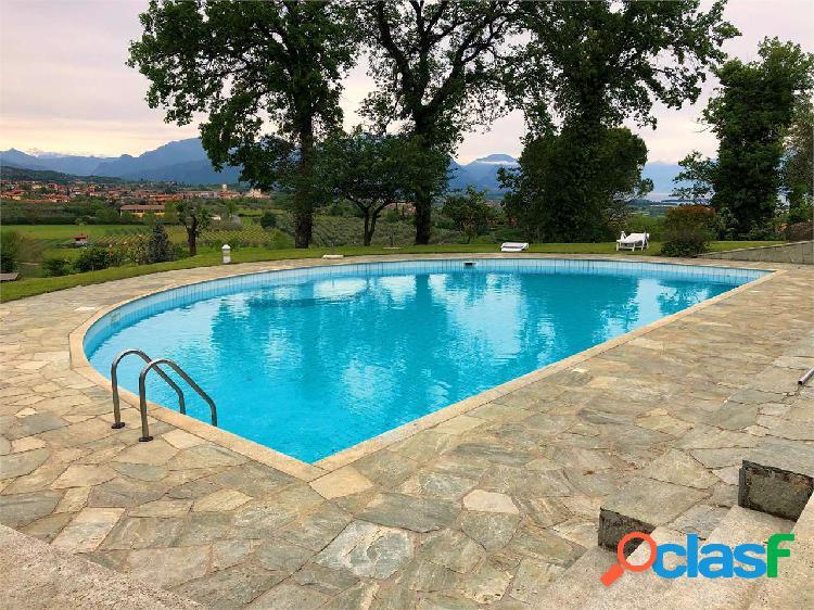 Soiano, Villa nuova con vista lago panoramica