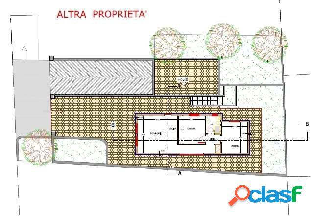 Bordighera centro - villetta in costruzione
