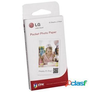 Pocket zink carta fotografica