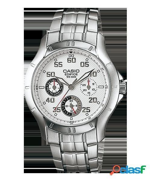 9e864e107a2204 Casio edifice multi-hand orologio ef-326d-1av - bianco