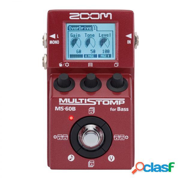 Zoom ms-60b pedale multistomp per basso
