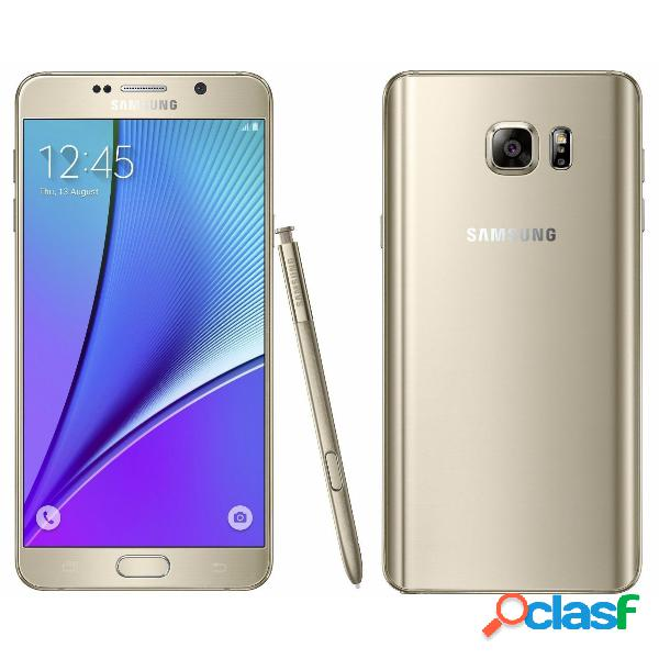 Samsung galaxy note 5 n9200 64gb dual sim libero 4g - oro