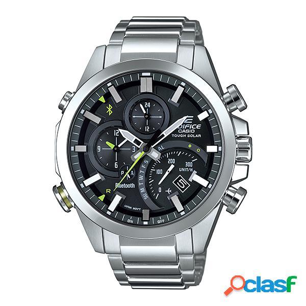 Casio edifice smartphone link bluetooth dual world time orologio eq...