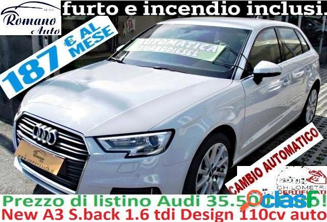 Audi a3 sportback diesel in vendita a pollena trocchia (napoli)