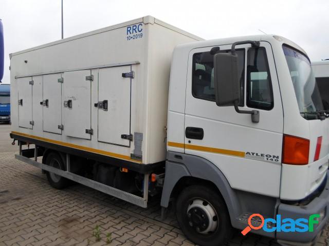 Nissan atleon 70/140 furgone isotermico+frigo atp diesel in vendita a pradamano (udine)