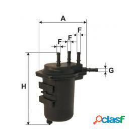 """Xn135 filtro gasolio uniflex renault/nissan """"1039"""""""