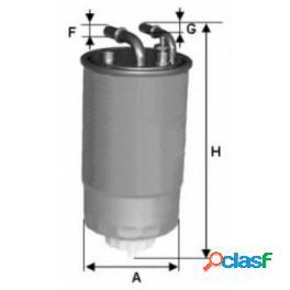 """Xn502 filtro gasolio uniflex opel mtj """"24one02"""""""
