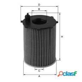 "Xoe110 filtro olio uniflex 1.4/1.6 hdi ""9657"""