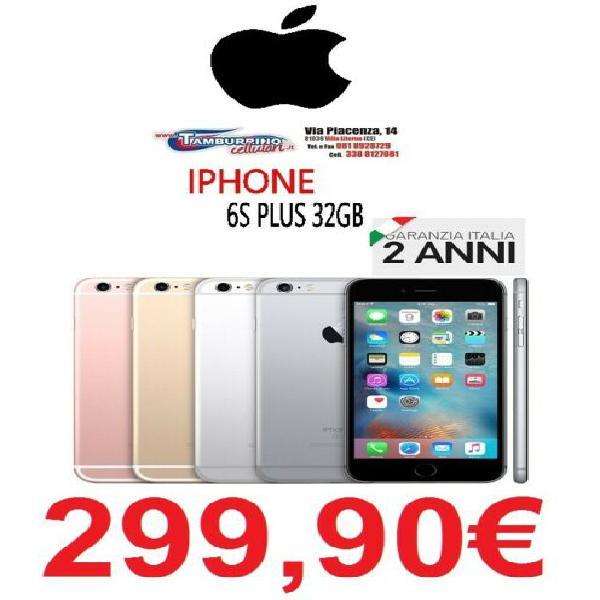 Apple iphone 6s plus 32gb foto 12mpx grey italia