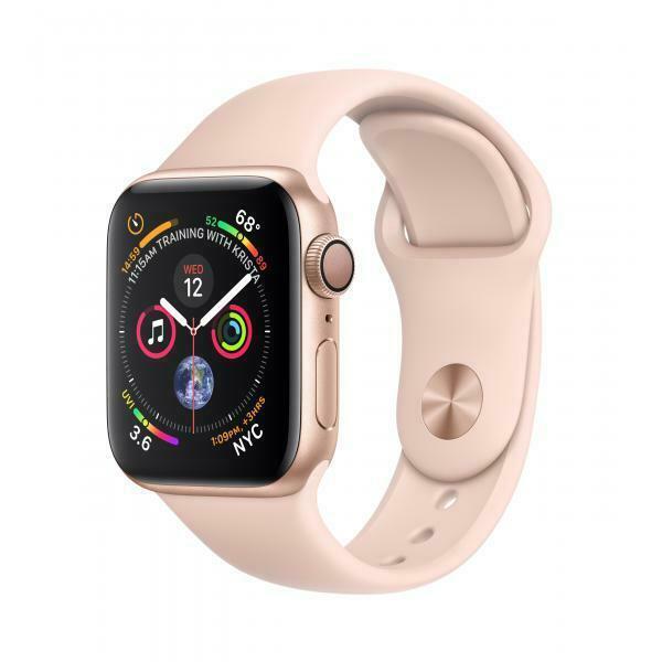 Apple watch series 4 smartwatch oro oled gps (satellitare)
