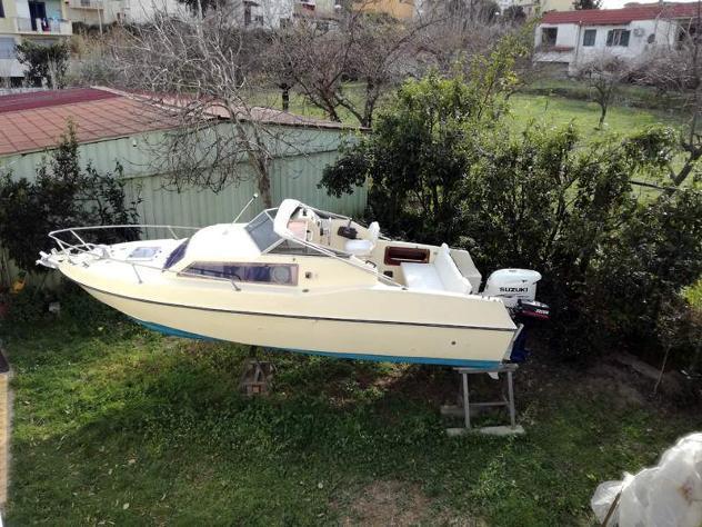 Barca 6 m motore suzuki 115 cv anno 2015