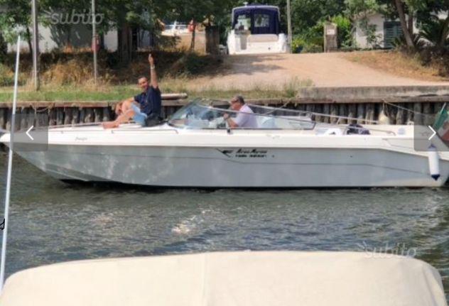 Barca airone marine 24 5000 mpi 8 cilindri