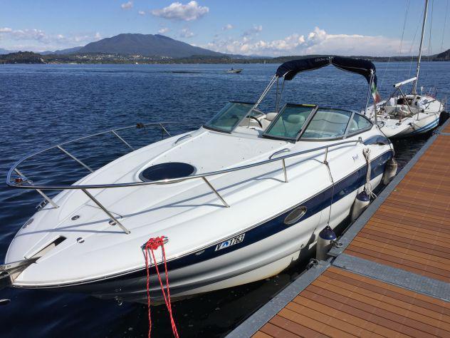 Barca crowline 250 cr completa, usata solo lago maggiore,