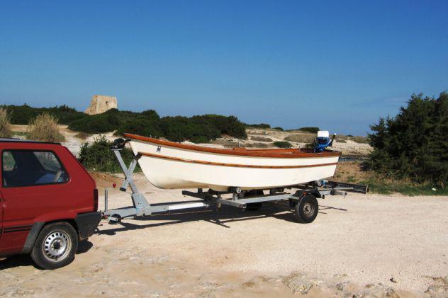 Barca, motore e carrello