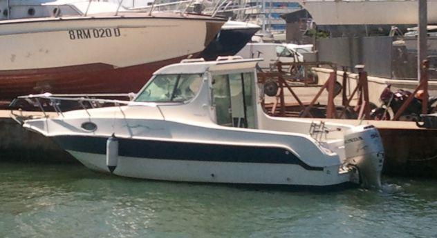 Barca saver manta 21 fisher
