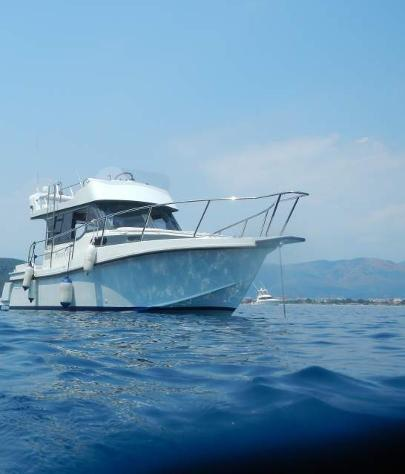 Barca a motore onda blu proteo 28 flying 36.000 €