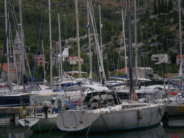 Barca crociera in alluminio 11m