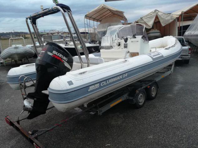 Clubman 24 joker boat 4t cv225 sfull gommone
