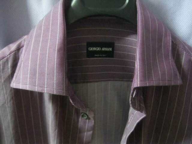 Camicia viola giorgio armani