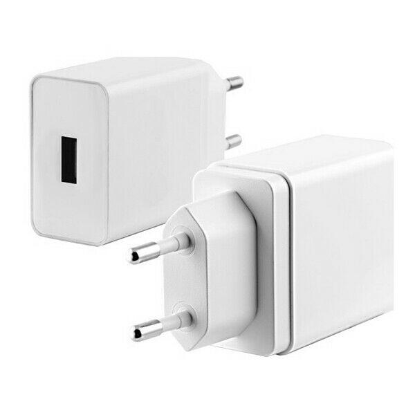 Caricabatterie usb da parete quick charge 3.0 bianco