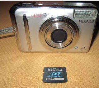 Fujifilm finepix a700 7.3 mpx