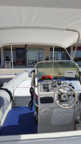 Gommone motonautica vesuviana 650 + mercury optimax 150hp