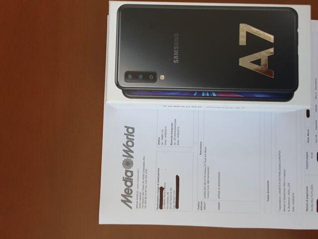 Galaxy a7 nero 64gb duos nuovissimao sigillato