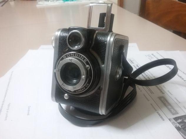 Macchina fotografica manuale ferrania mod. rondine bf