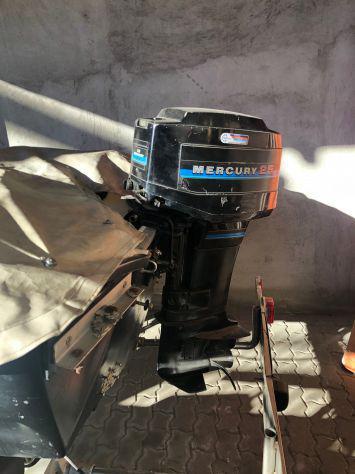 Motore fuoribordo mercury 25 hp avviamento elettrico