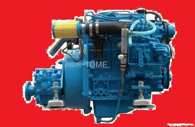 Motore marino per barca entrobordo diesel 21 hp nuovo.