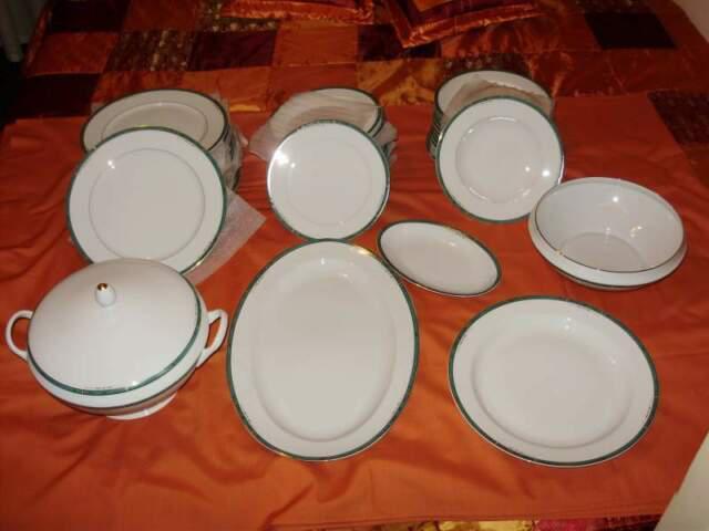 Servizio di piatti completo da 12 limoges france