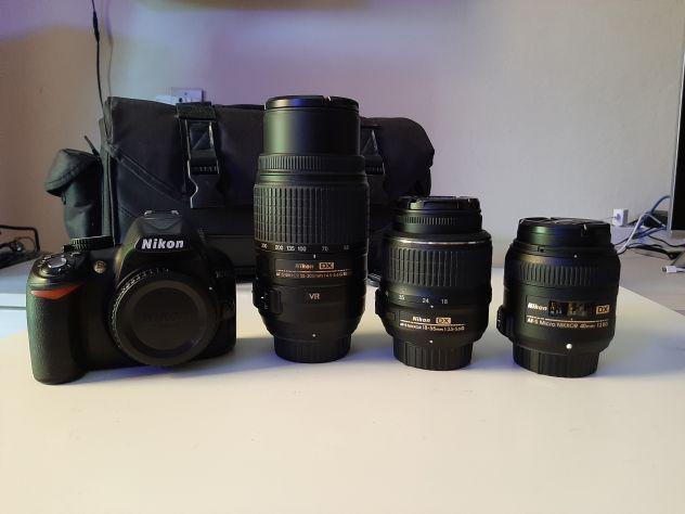 Set fotografico reflex completo