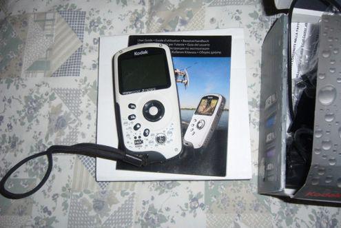 Video foto camera kodak playsport hd1080