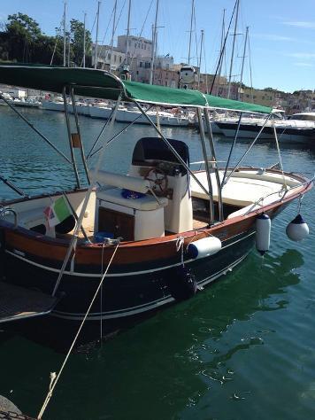 Barca a motore aprea mare l aprea acquamarina 650td anno