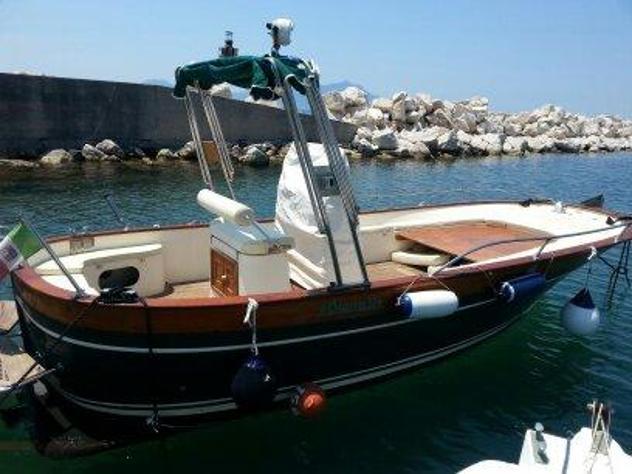 Barca a motore aprea mare open 650 td acquamarina anno 2017